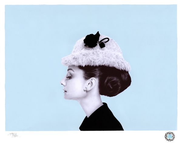 This is a photo-realistic drawing of Audrey Hepburn by James Mylne. It is drawn with a black Bic ballpoint pen. Incredible. Watch a video of him drawing it here http://www.youtube.com/watch?v=ioQu4a_DZ0E