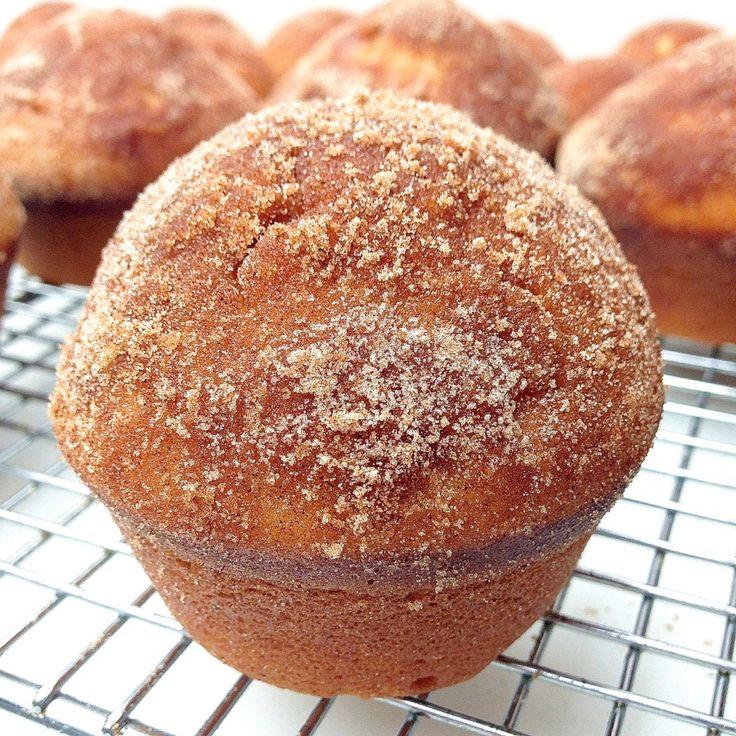 Donut Muffins | Breakfast | Pinterest