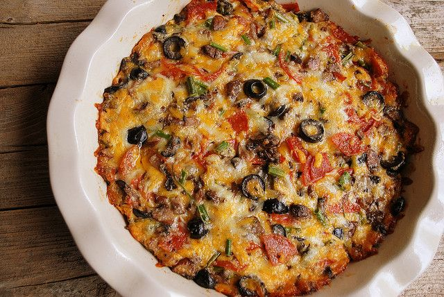 Pizza Dip: All your favorite pizza toppings baked and ready to dip ...
