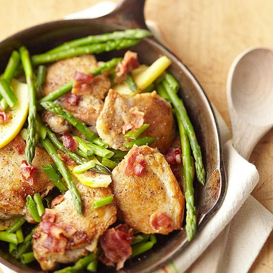 Chicken and Asparagus Skillet Supper from the Better Homes and Gardens ...