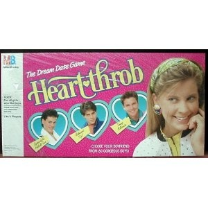 Heartthrob: The Dream Date Game Vintage 1988: Toys & Games   Omg I love this game!!!!!!!