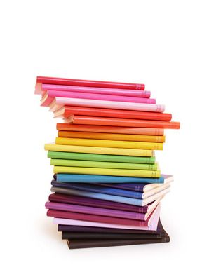 Fun, colorful notebooks!