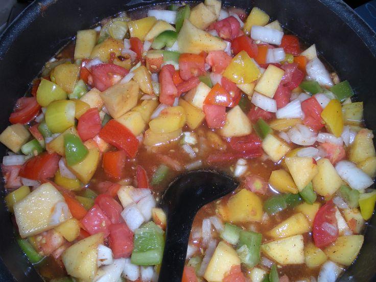 peach salsa | canning | Pinterest