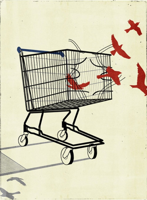 Free yourself. #Consumerism