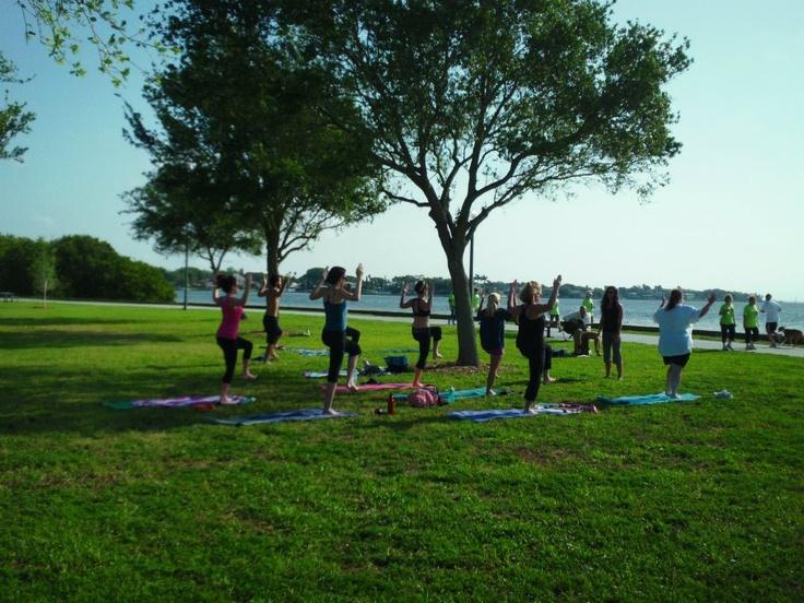 Yoga In The Park At Flora Wylie Saint Petersburg FL Yoga