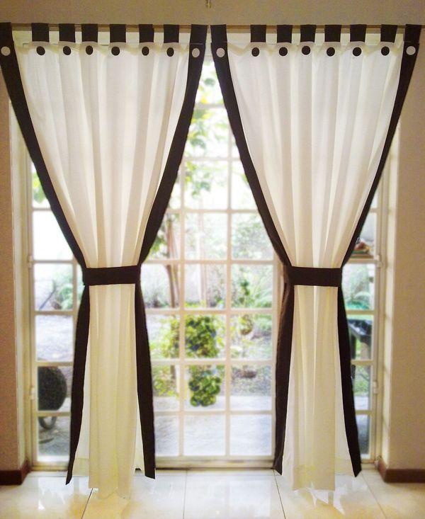 Как своими руками удлинить шторы 88