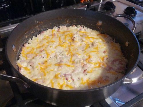 Ham and Cauliflower Casserole Au Gratin | Expanding My Food Horizons
