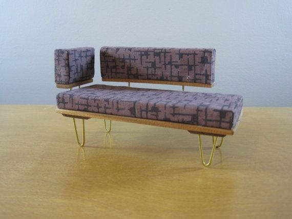 Doll house Midcentury Sofa