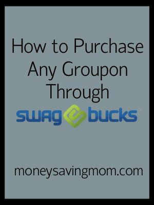 ... to Purchase any Groupon through Swagbucks: Step by Step Instructions
