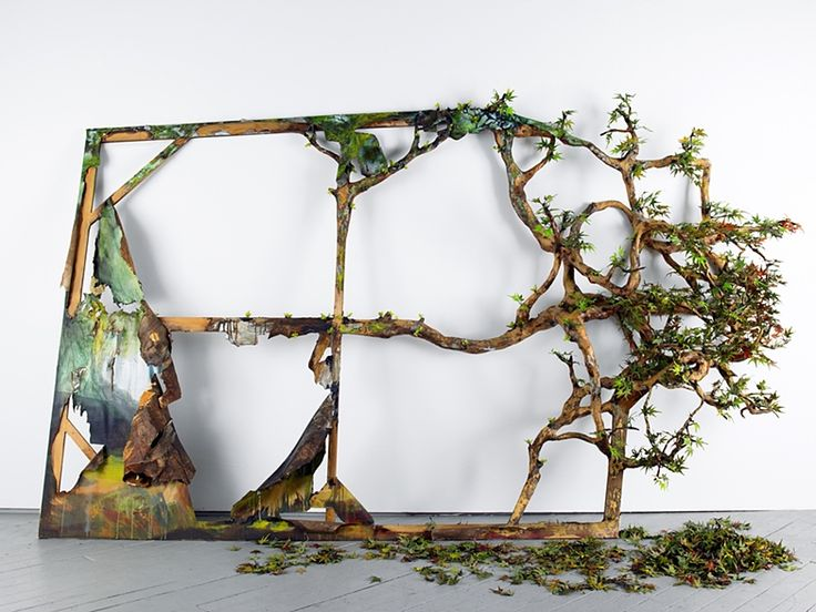 in the woods, of the woods by valerie hegarty, 2009.