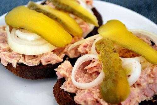 Deviled ham salad sandwich | Nom Nom Nom | Pinterest
