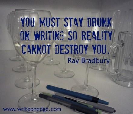 Ray Bradbury Writing
