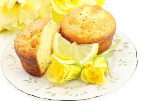 Gluten-free Lemon & Poppy Seed Muffins | Baking | Pinterest