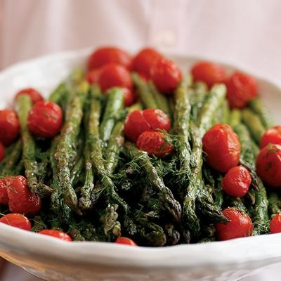 Hungry anyone? ... Roasted Asparagus Salad with Citrus Dressing