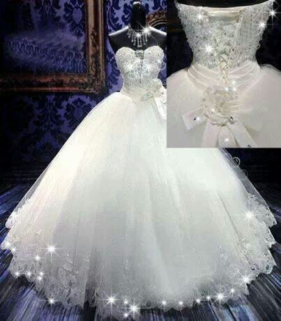 Blinged out wedding inspiration pinterest for Blinged out wedding dress