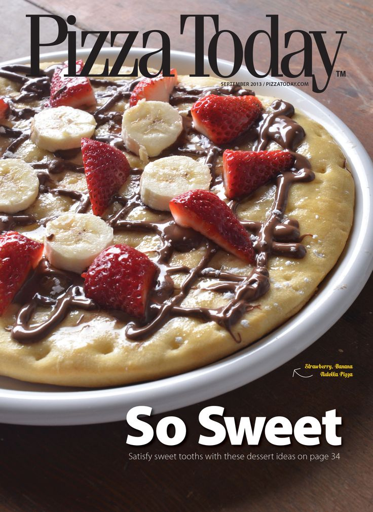 ... Strawberry, Banana & Nutella #Pizza was better than good. It was