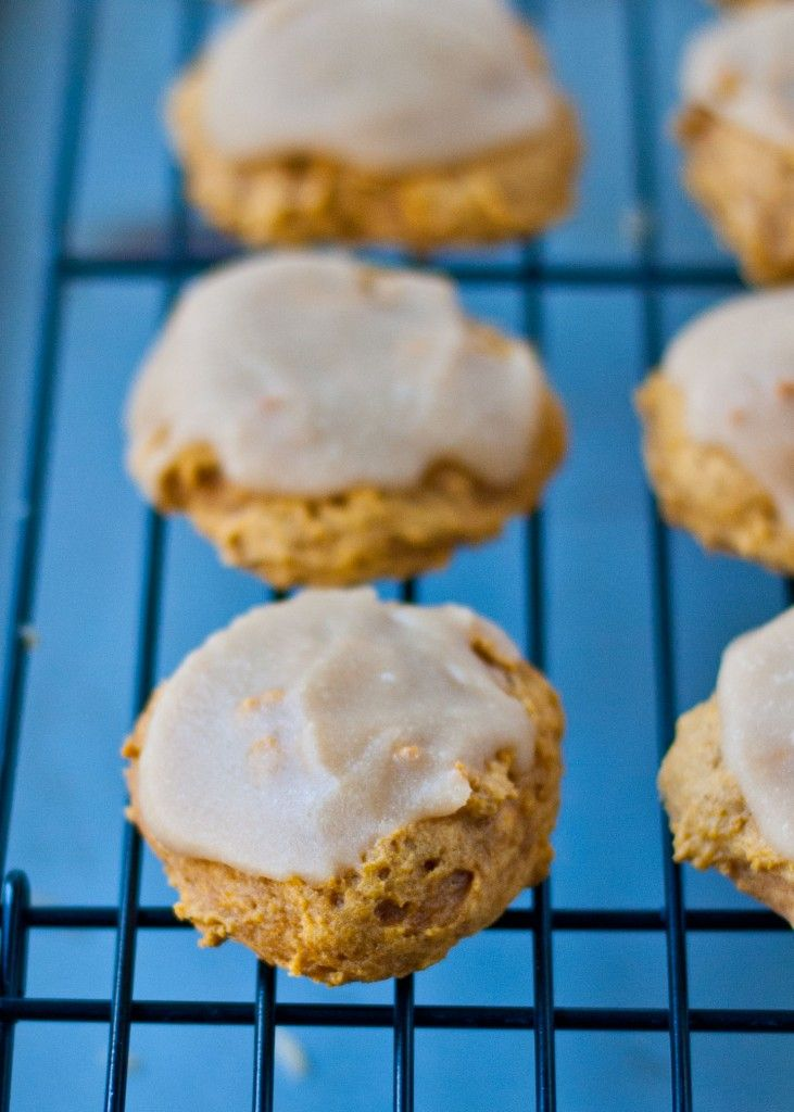 Pumpkin Cookies with Penuche Frosting | Neighborfoodblog.com #pumpkin ...