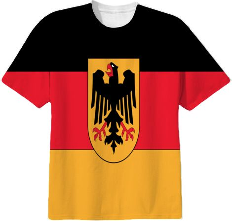 german flag shirt