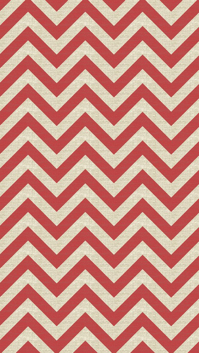 iPhone 5 wallpaper - #chevron #red #pattern