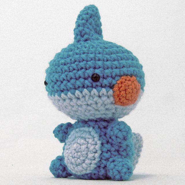 Crochet Patterns Pokemon : Ravelry: Pokemon: Mini Mudkip pattern by i crochet things