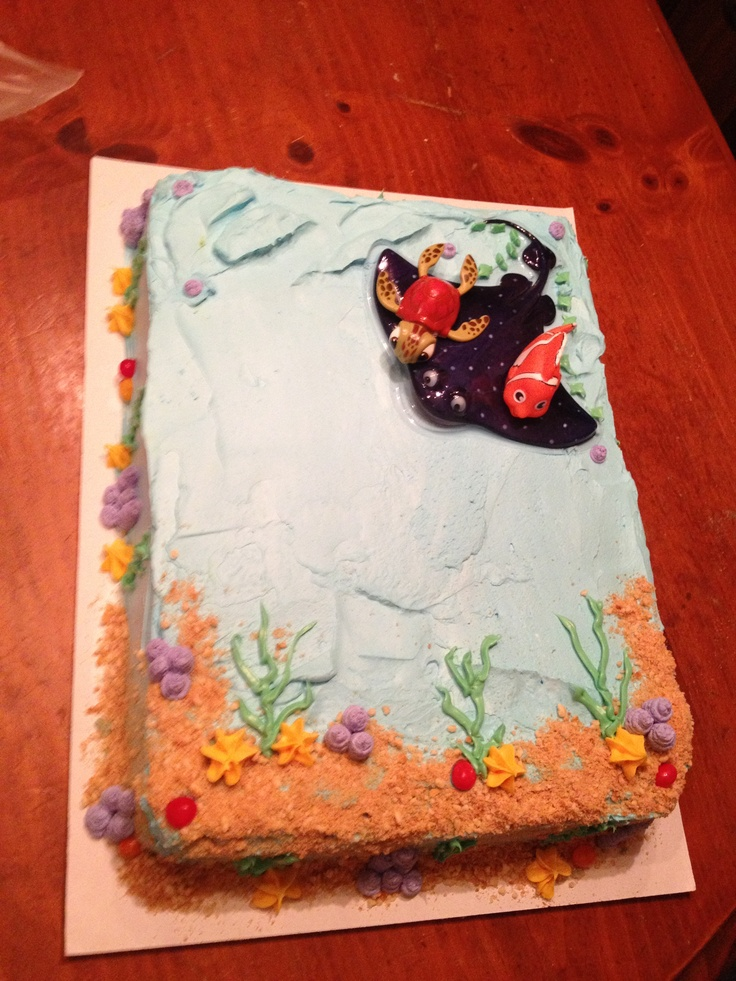 finding nemo baby shower cake my cakes and creations pinterest