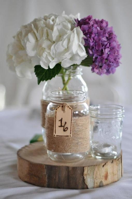 Diy nuova vita ai barattoli di vetro con spago carta e - Come decorare un barattolo ...