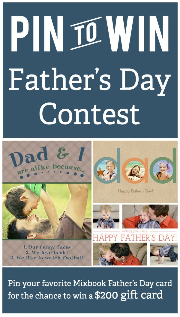 father's day contests 2015