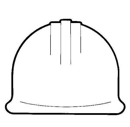 the gallery for gt construction hat template