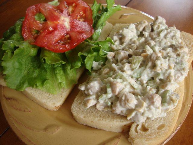Mock Tuna Salad   Vegan food   Pinterest