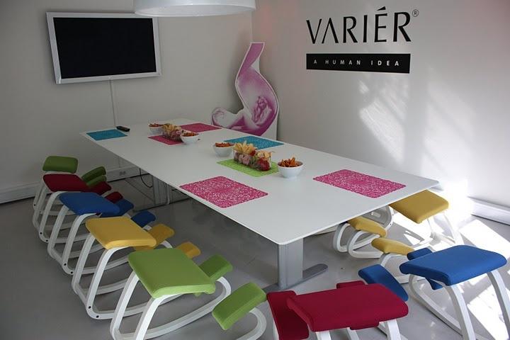 Variable Furniture Balans The Original Kneeling Chair Variables in bright colors | Varier Möbel | Pinterest