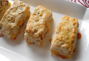 Bacon, Onion and Cheddar Biscuits | Yummyyy | Pinterest