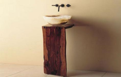 rustic pedestal sink Restaurant design ideas Pinterest