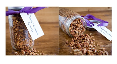 coconut cinnamon granola from naturally ella