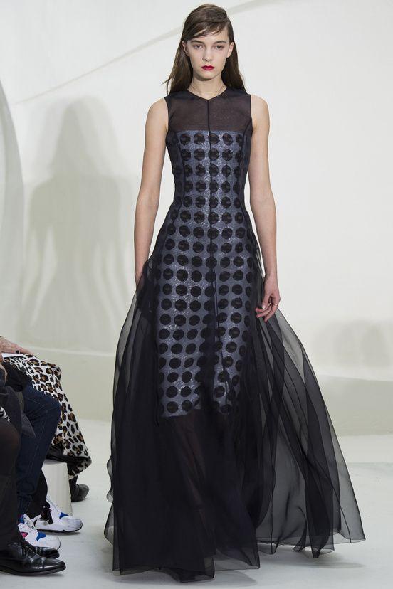Le défilé Christian Dior haute couture printemps-été 2014|44