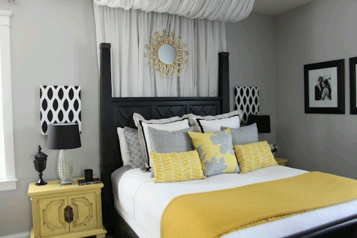 go back gallery for grey and yellow master bedroom ideas