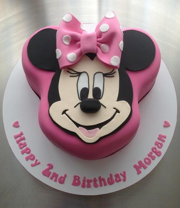 Minnie Mouse Cake cake decorating ideas Pinterest