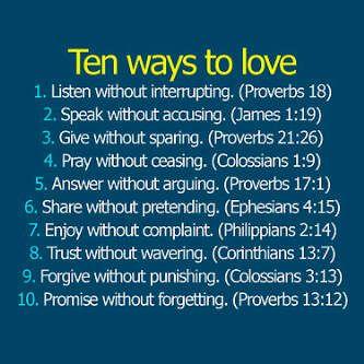 10 ways.