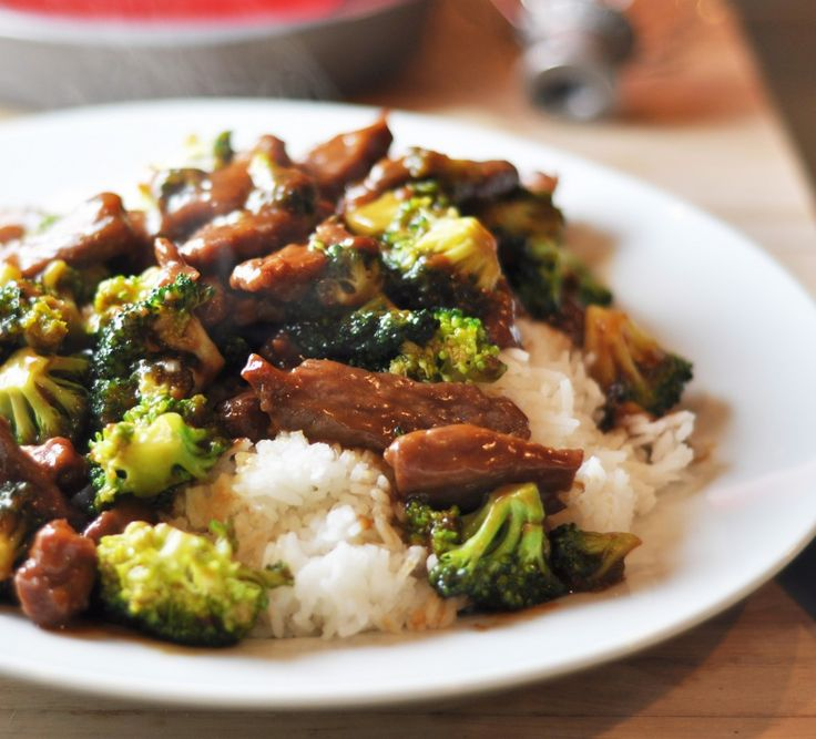 Beef and Broccoli Stir Fry | Delish! | Pinterest