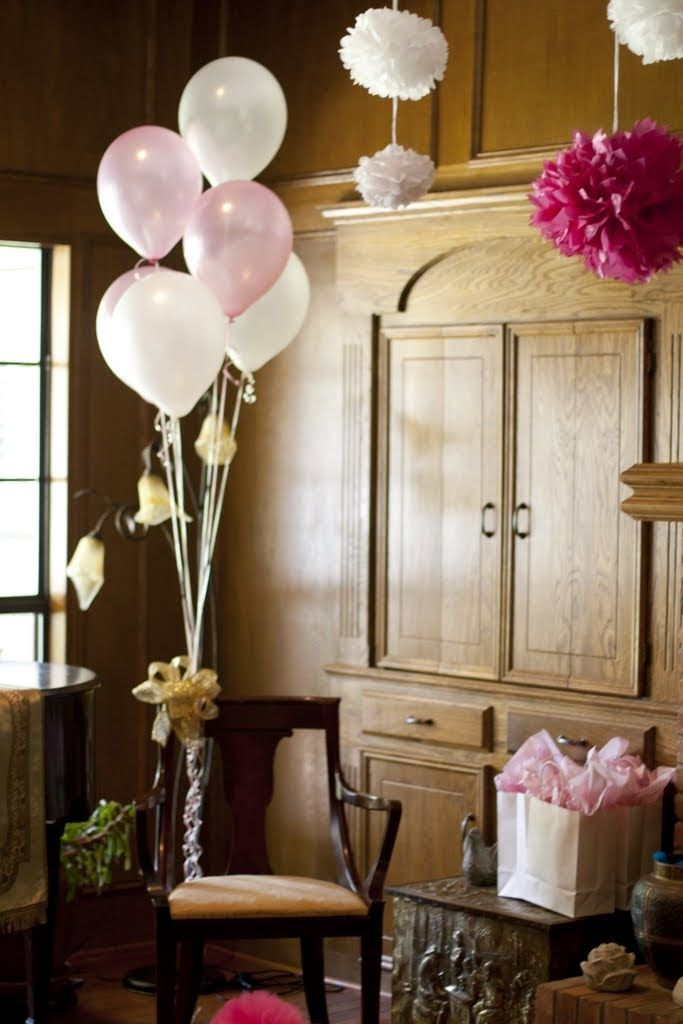 baby shower for a girl pink and gold glitter and ruffles mom to be