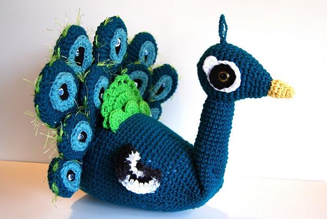 Amigurumi Star Wars De Ganchillo : Peacock, via Flickr. Amigurumi Pinterest