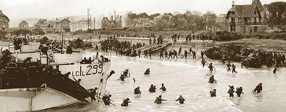 d day landing of allied troops in europe