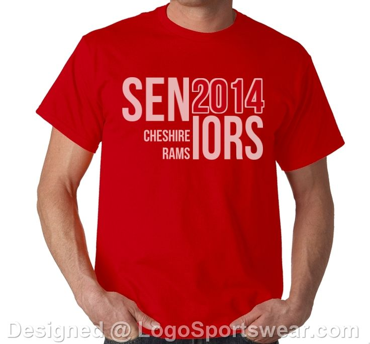shirts for your senior class - perfect for trips or pep rallies