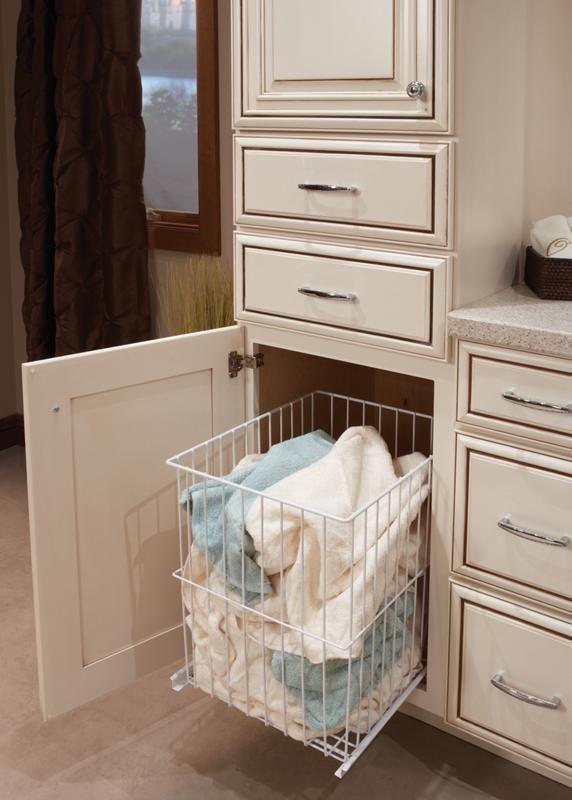 Built In Bathroom Laundry Hamper Int Rieur Pinterest