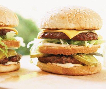 American Double Cheeseburgers | Cheeseburgers | Pinterest