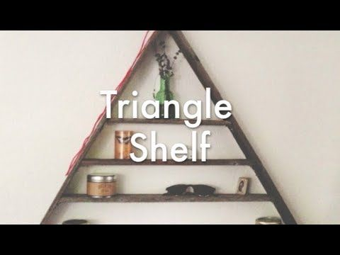Triangle Shelf   DIY   Pinterest