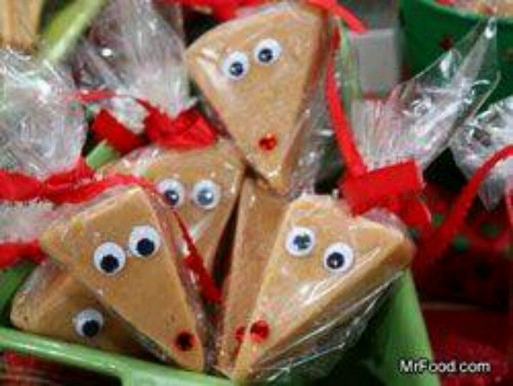 Christmas Reindeer Fudge