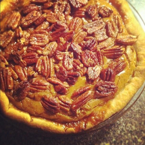 pecan pumpkin pie!!! | sweet tooth. | Pinterest