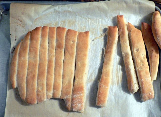 Easy Breadsticks recipe. brush with melted butter and add seasonings ...