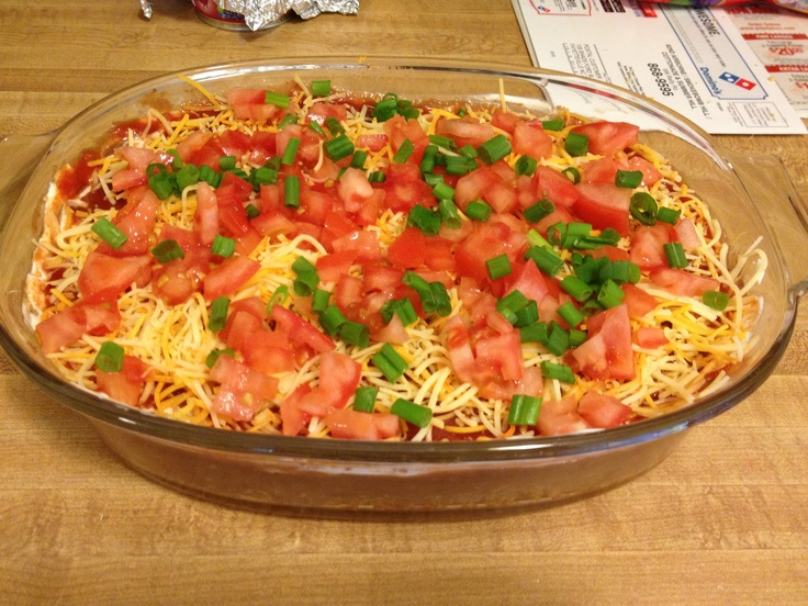 Layered taco dip | My creations | Pinterest