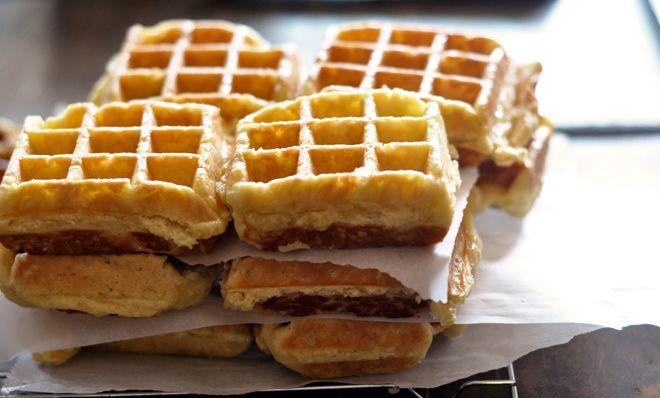 Liege Waffles | BREAKFAST*of*CHAMPIONS | Pinterest